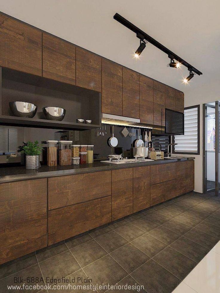 147 best Kitchen images on Pinterest Contemporary unit kitchens