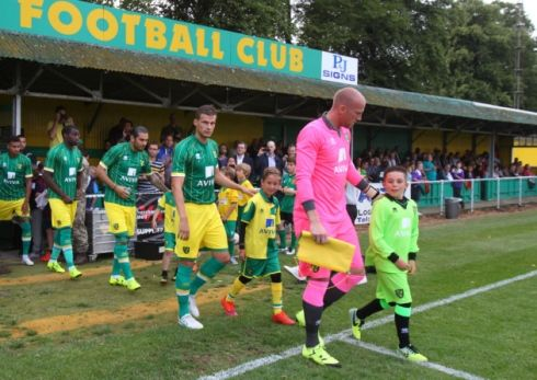 Norwich City unveiled their new away kit at Hitchin and now there is a third kit on the way.  Picture: Paul Chesterton/Focus Images Ltd