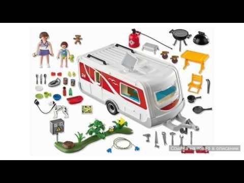 Семейный автоприцеп Playmobil (Плеймобил)