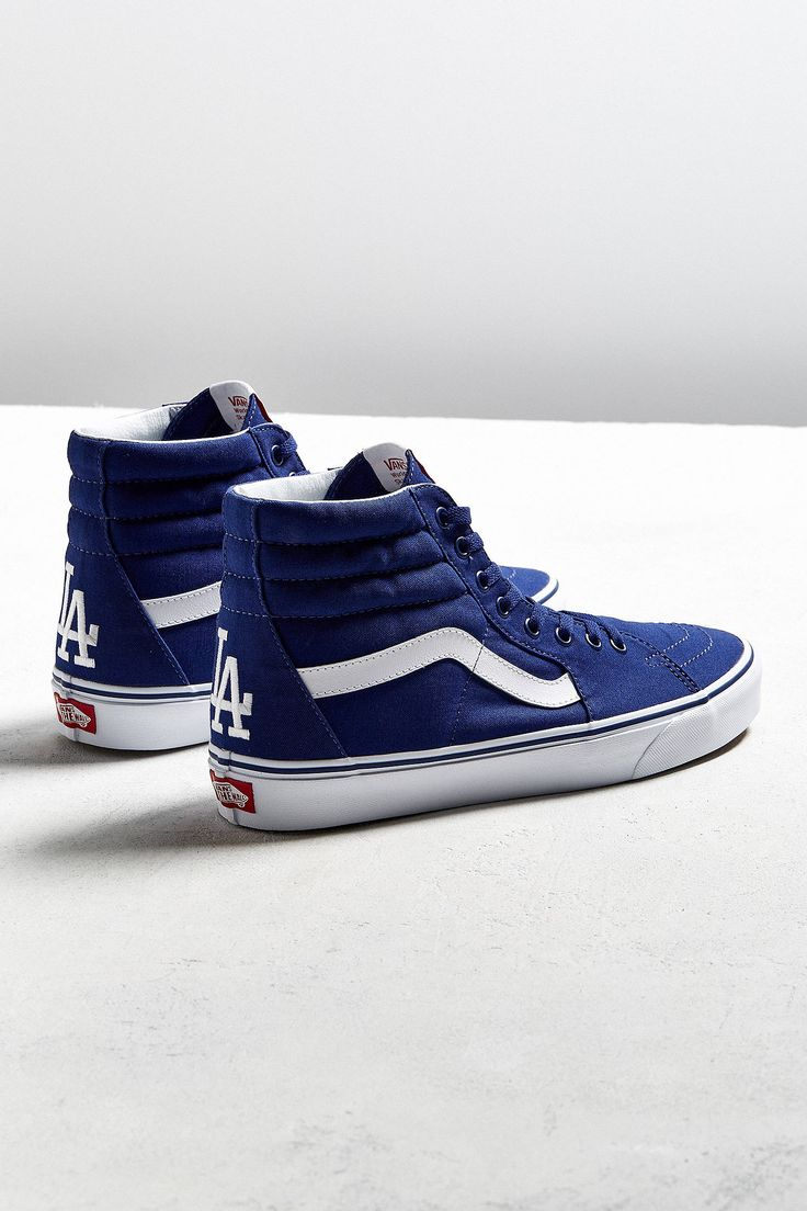 Slide View: 1: Vans MLB Los Angeles Dodgers Sk8-Hi Sneaker