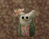 Coruja Decor Nursery Temático - Felt Owl Ornamento - Paisley Decor Coruja - Decorações Coruja para chá de bebê - Berçário Woodland