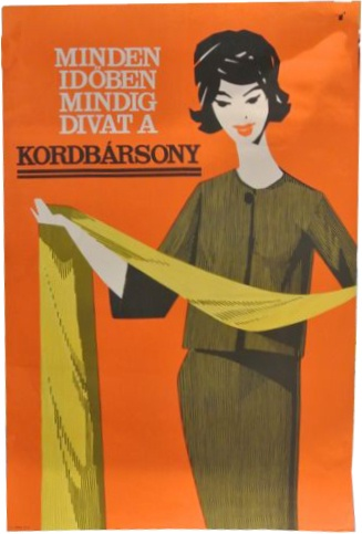 vinage Hungarian poster