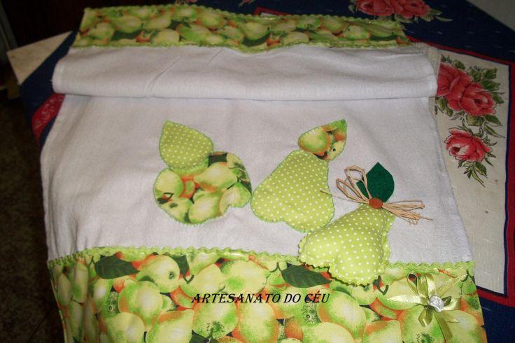Pano de Prato Frutas