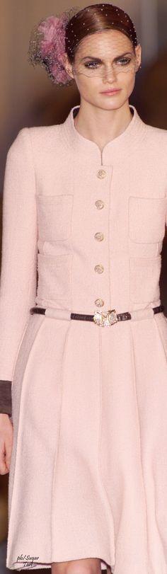 Chanel ~ Pink Long sleeve Dress 2016