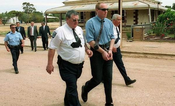 "Photo of Robert Wagner. John Bunting, Robert Wagner and James Vlassakis: also known as ""Bodies in the Barrels Murders""; convicted of the Snowtown murders of 11 people between 1992 and 1999"