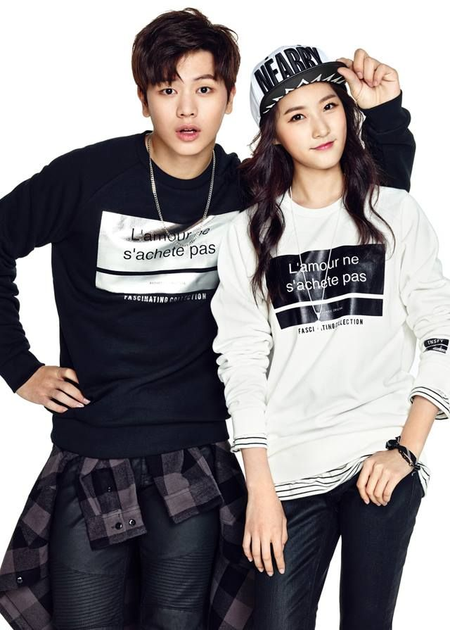 BTOB & Kim Sae Ron Cozy Up in Jackets for 'TBJ' F/W 2015! | Koogle TV