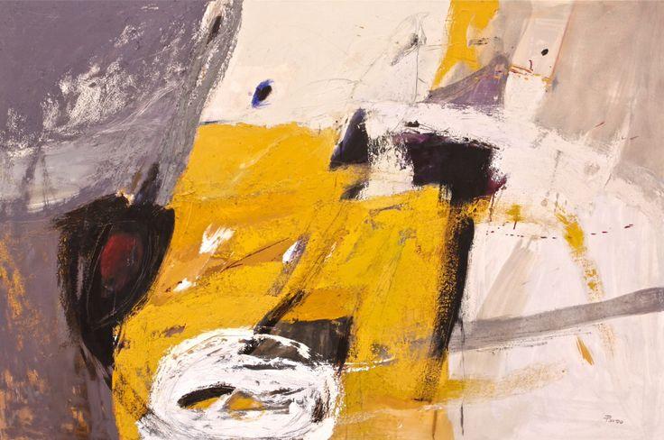 In Volo - 2014 - olio su tela - cm 150 x 100