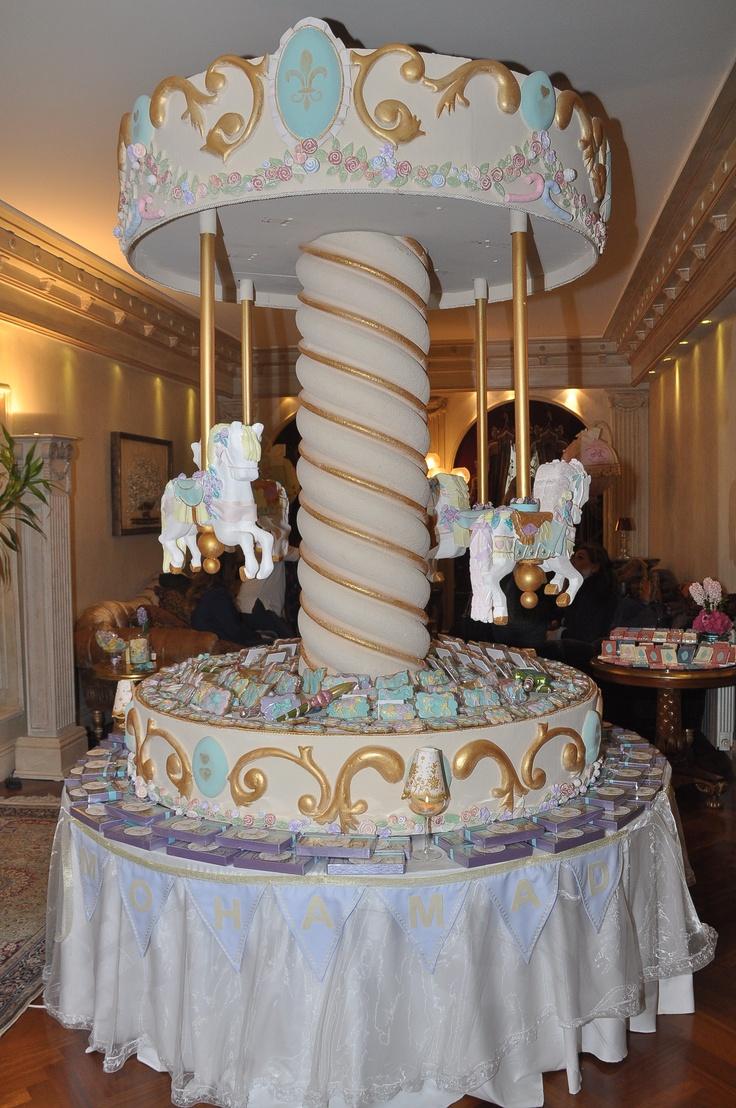 Carousel Baby Shower Erin S Baby Shower Carousel
