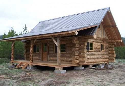 log mobile homes with lofts | The log cabin mobile home that follows is located in Marion, Montana ...
