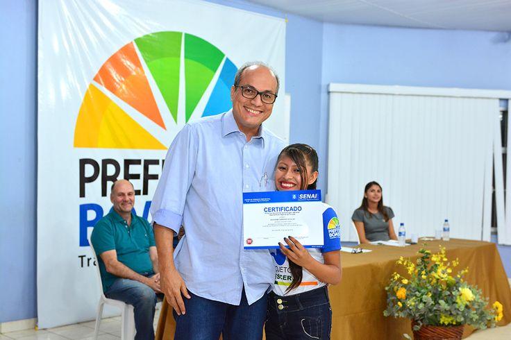 Integrantes de projetos sociais recebem certificados de cursos profissionalizantes #pmbv #prefeituraboavista #boavista #roraima