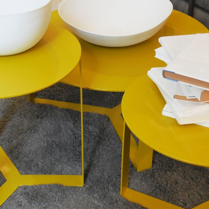 Set de mesas Barbados. #solsken #diseño www.solsken.com.ar