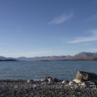 Lake Tekapo. South Island, New Zealand.