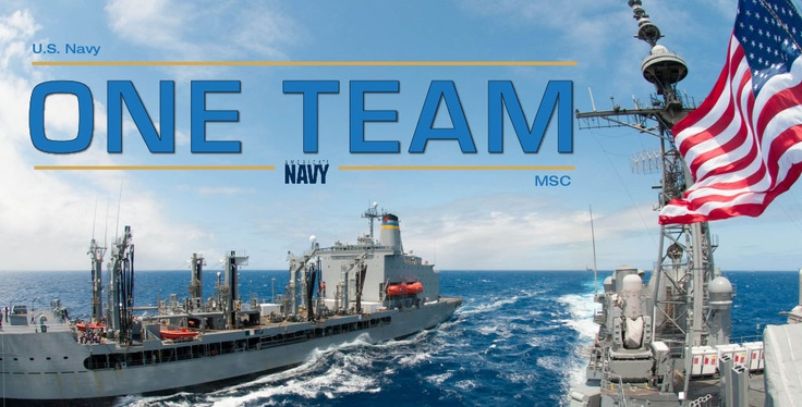 May 22 is National Maritime day! Find out how the #USNavy & Military Sealift Command work as #OneTeam to ensure our #sailors are ready when it matters, where it matters!