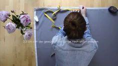 DIY: Vorhang kürzen