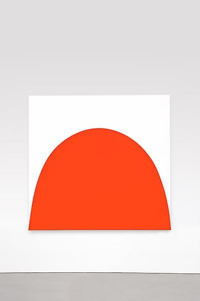 Red Curve Relief, Ellsworth Kelly 2010