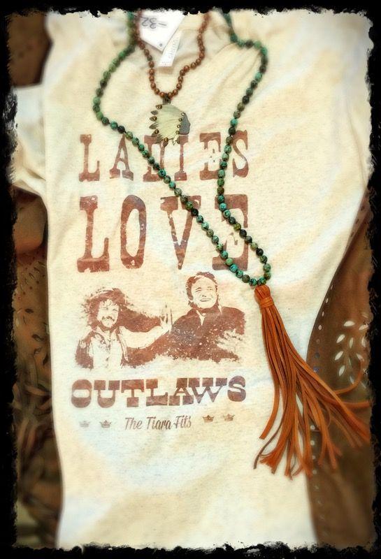 Ladies Love Outlaws Tee