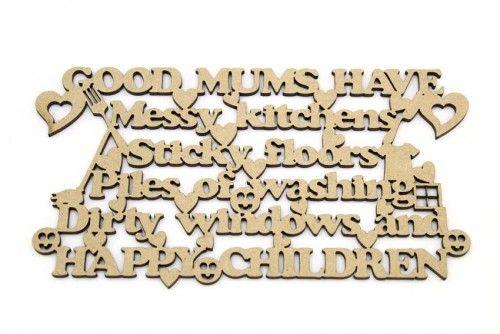 Good Mums Plaque http://www.lornajayne.co.uk/