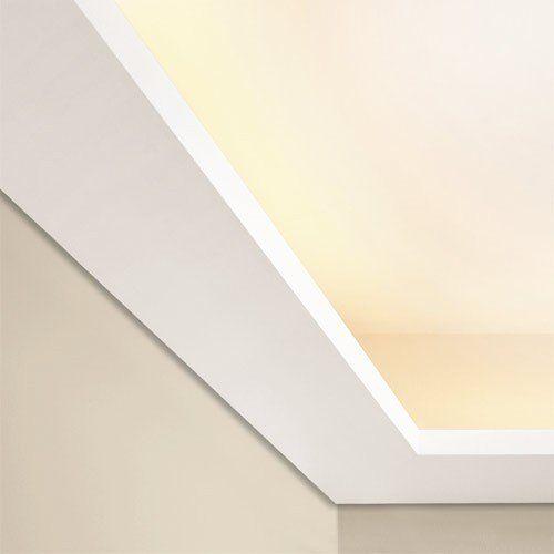 Orac Decor C352 LUXXUS Wand Decken Profilleiste Stuckgesims Zierleiste Eckleiste für indirekte Beleuchtung | 2 Meter: Amazon.de: Baumarkt