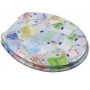 Euroshowers Euro Money Novelty Toilet Seat