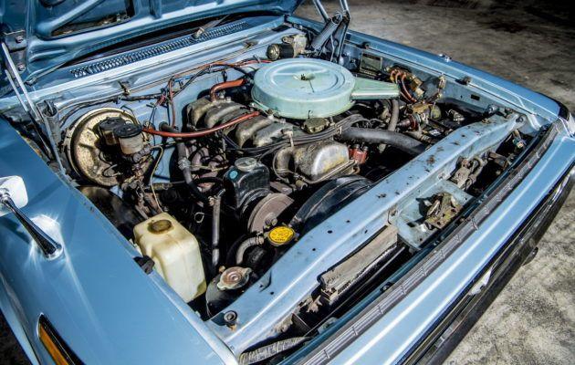 Vuonna 1972 valmistunut Toyota Crown De Luxe oli aikanaan ylellinen lähes edustusluokan auto, joka on nykyisin melkoinen harvinaisuus.