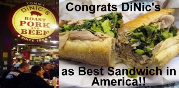 Tommy DiNic's Roast Pork sandwich at Reading Terminal Market  OMG SO good!  <3