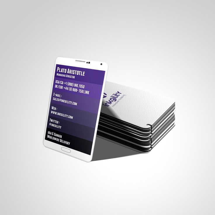 26 best Smart Phone Standard business Cards images on Pinterest ...