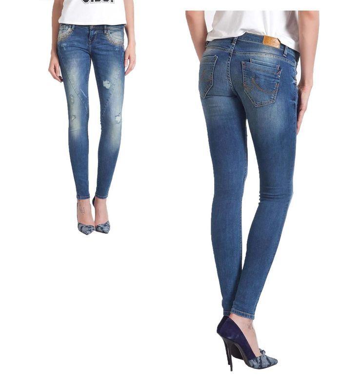 New Women Ladies Stretchy Denim Jeggings Skinny Jeans Slim Pants 8-16