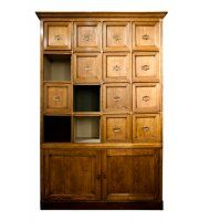 19th Century French Shop Cabinet