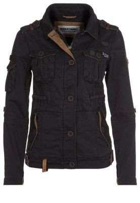 Stylish lightweight jacket for summer. Love the color and detailing.