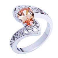Venta al por mayor alta calidad y barato aniversario 925 anillo de plata tamaño 9 nuevo diseño de la joyería 2014 para mujeres