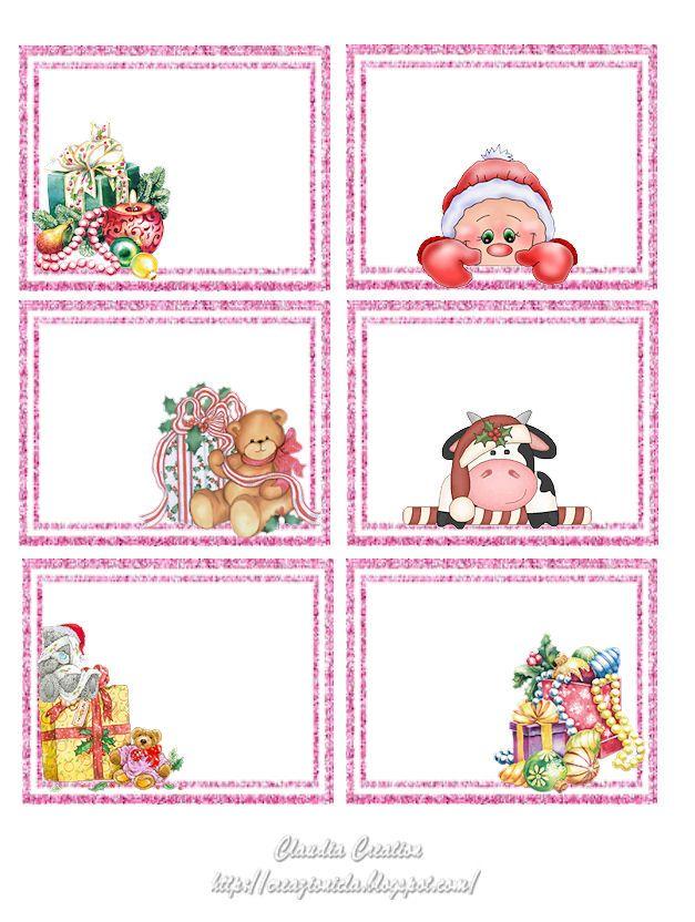 petits motifs de Noël pour cette planche d'étiquettes... elles trouveront leur place sur vos créas ou vos cadeaux... vous trouverez sur ce site de nombreux freebies, et voyez aussi nos différents boards consacrés aux créations gratuites, vous y trouverez de nombreux modèles !...
