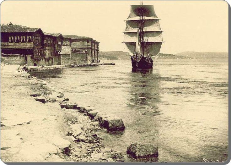İstanbul ~ Rumeli hisarı Sahili - 1890