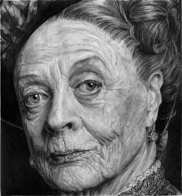 The terrific Maggie Smith / Lady Violet of Downton Abbey