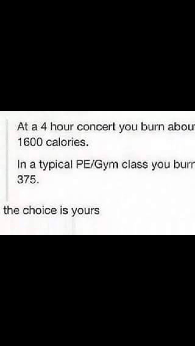 What about warped tour that's 12 hours so  that's about 192,000 calories