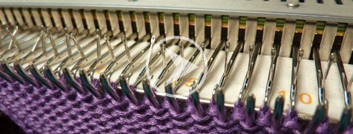 Learn Machine knitting