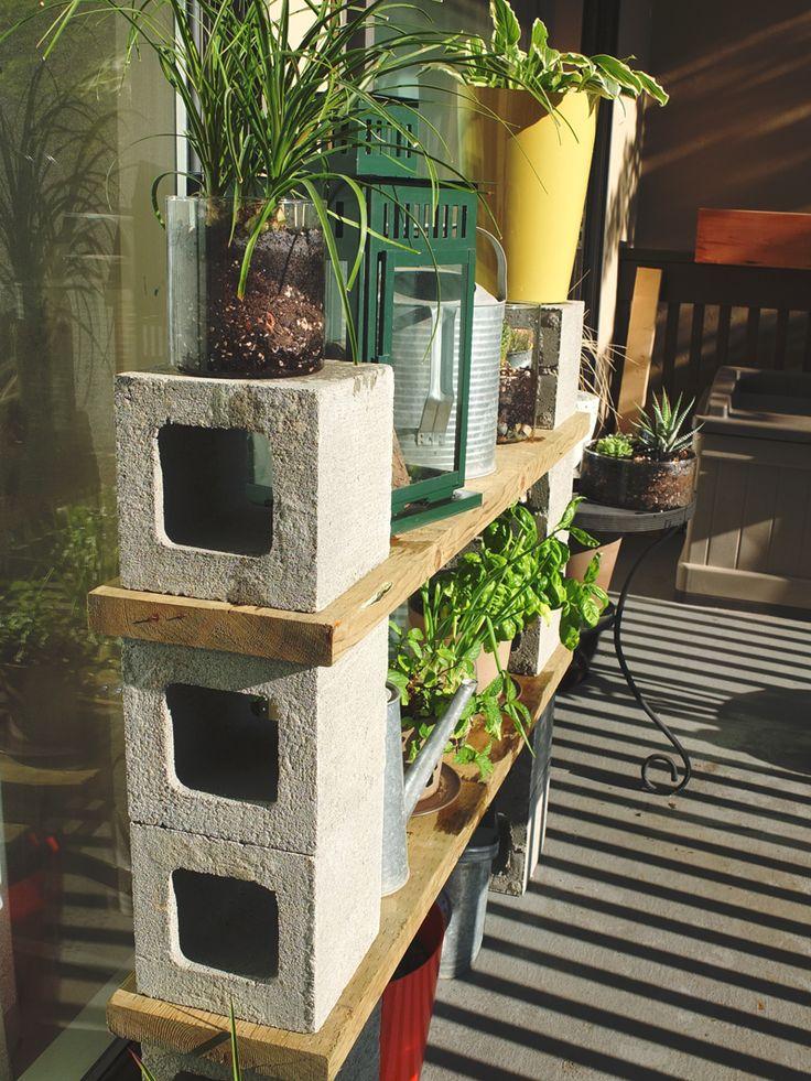 Best 25+ Outdoor Shelves Ideas On Pinterest | Garden Wall Planter, Wood  Lattice Ideas And Slat Wall