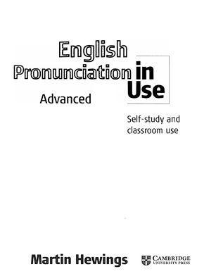 English Pronunciation in use Advanced. audio: https://new.vk.com/doc8069473_215596822?hash=1b75f8b0ee8cf33237&dl=670a5c3f7e57818f35