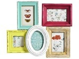 Pink Picture Frames, Shabby Chic Girls Room Nursery by The Shabby Chateau - contemporary - frames - - by Etsy