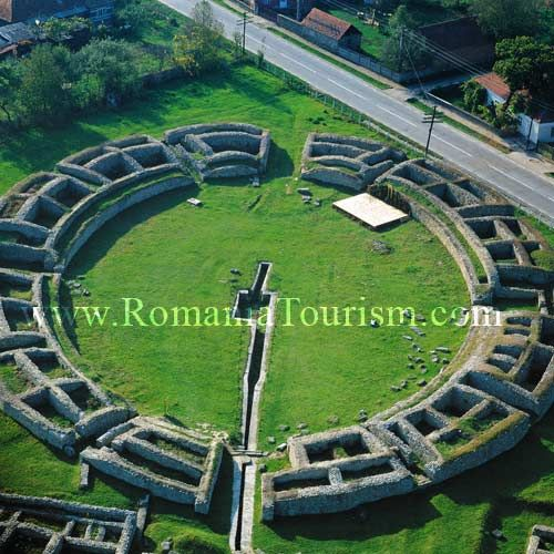 Sarmisegetuza Image - World Heritage Site - Orastie Mountains, Romania. The very first capital city of the actual Romanian territory , before the Roman Empire invasion in 106 A.D.