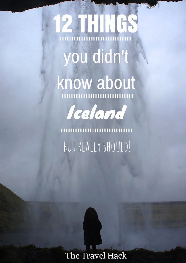12 things you didn't know about Iceland but should!