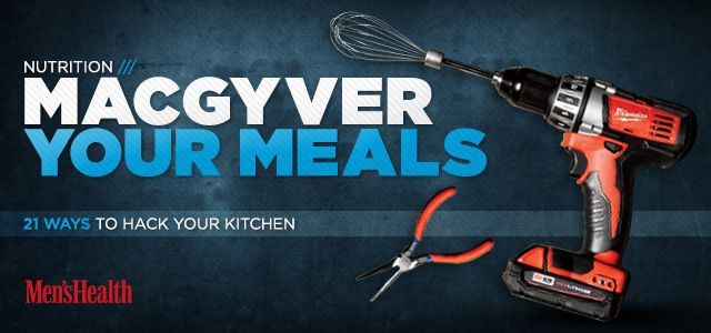 Bodybuilding.com - 21 Ways To Hack Your Kitchen I just love that some of the best kitchen hacks came from bodybuilding.com. Muscles gotta eat!!