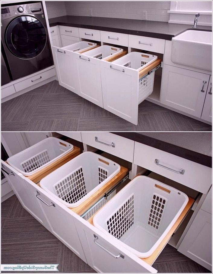 Keller und Waschküche, Waschküche Ideen blau, kleiner Flur Waschküche i