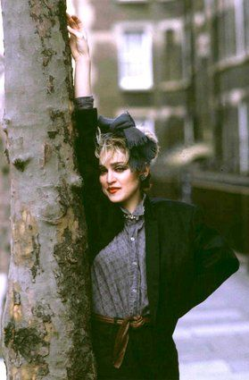 Stunning, Rare Vintage Images From New Book Celebrating 30th Anniversary Of Madonna's 'Like A Virgin'