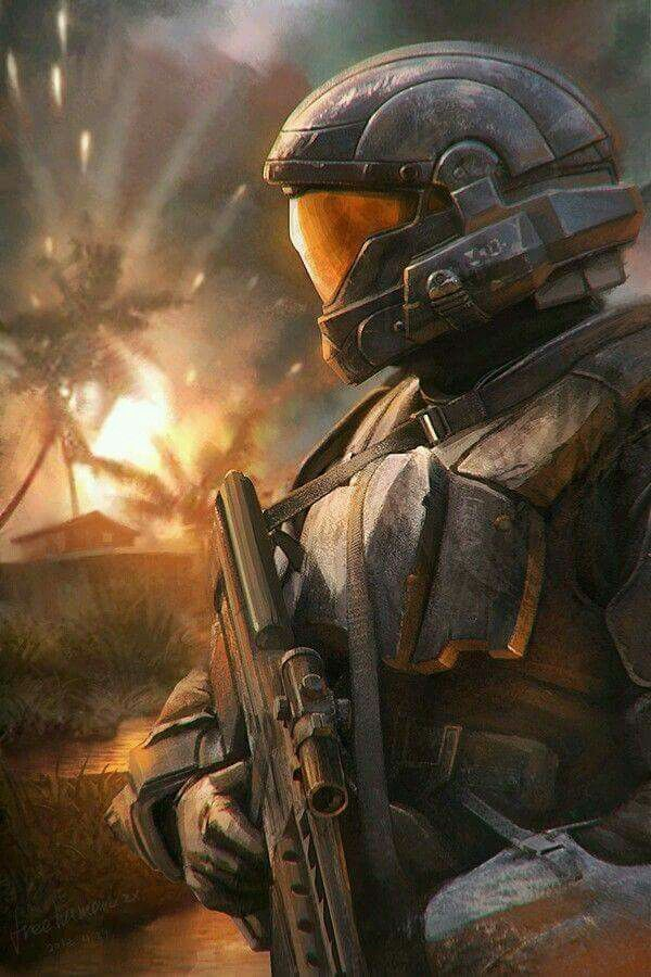 17 best images about halo a game that inspires on - Master chief in halo reach ...