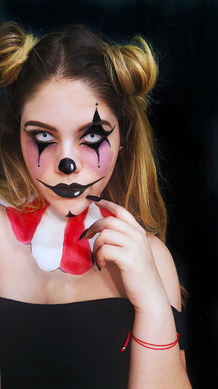 follow me on instagram: @odlen_sita   halloween makeup halloween october sf special effects clown makeup evil clown freak show freakshow american horror story teeth evil sad clown scary clown fx sephora #sephoraselfie #halloweenmakeup idea