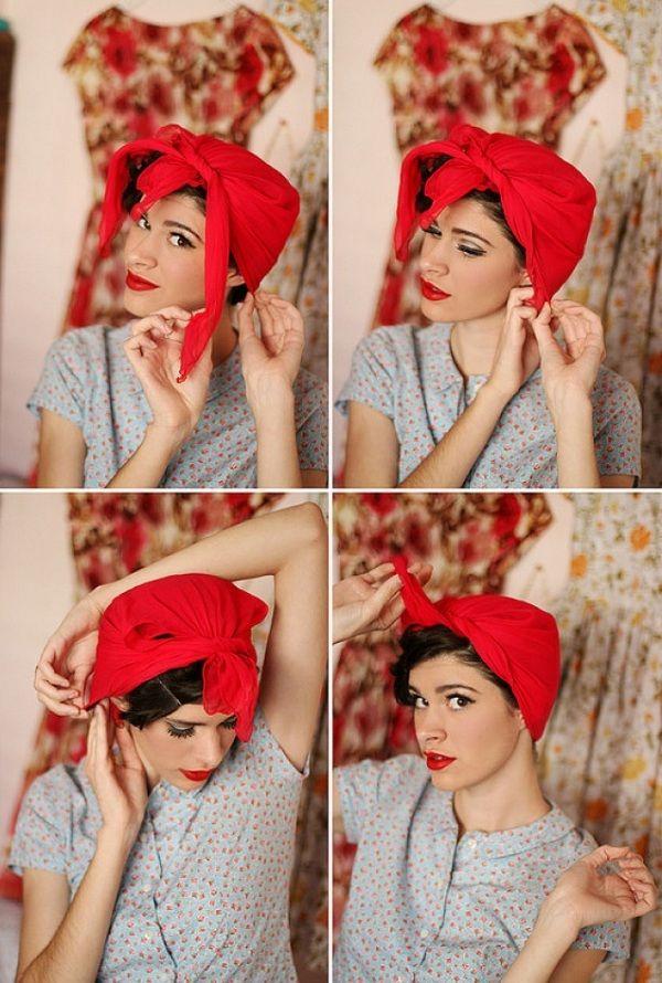 12 отличных способов красиво завязать платок на голове Для настоящей женщины.Он станет идеальным дополнением твоего стильного образа.