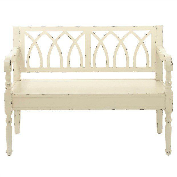 Nantucket Storage Bench Cottage Style Solid Wood 15: Best 25+ White Bench Ideas On Pinterest