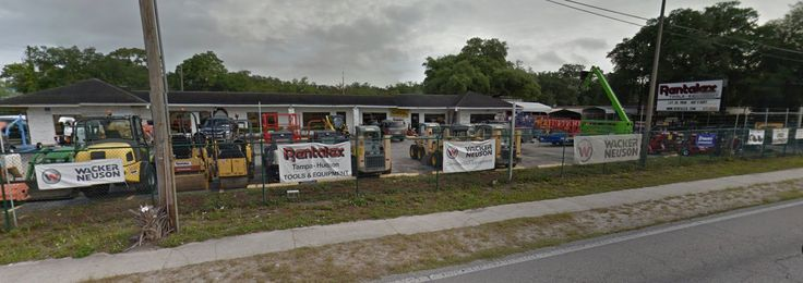 Rentalex of Tampa Heavy Equipment Rentals & Services. We offer a great selection of construction equipment including aerial lifts, scaffold, excavators, trailers, and much more.