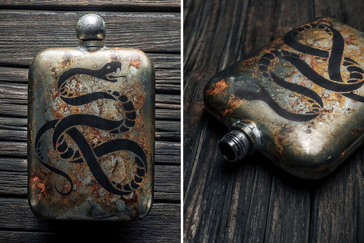 Sneerwell Noble Antique Flasks | HiConsumption