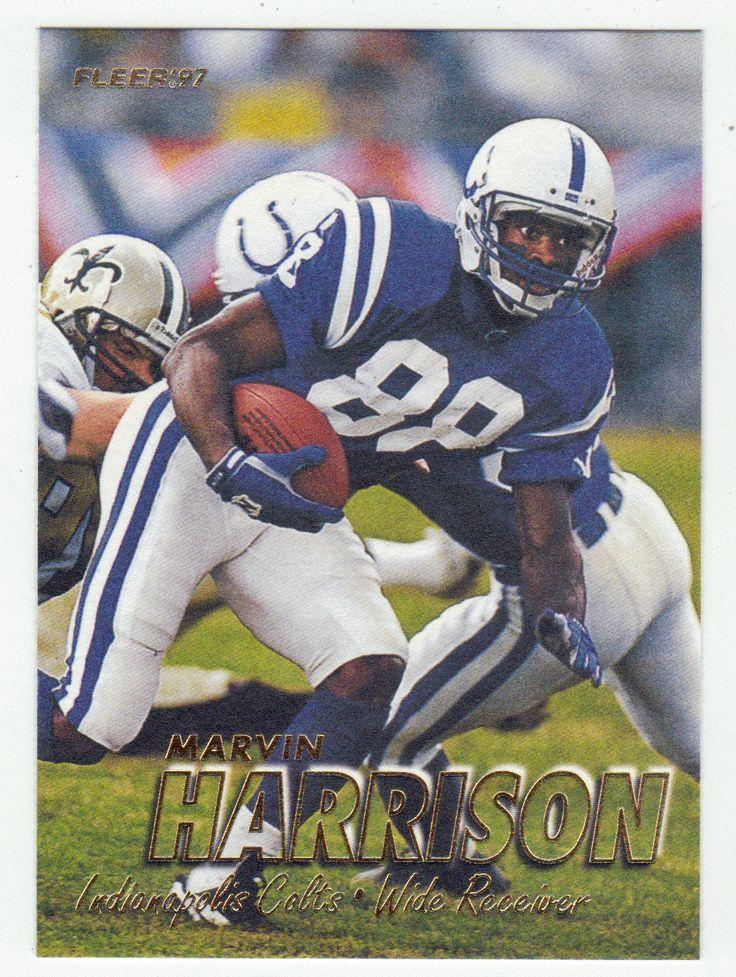 Marvin Harrison # 51 - 1997 Fleer Football